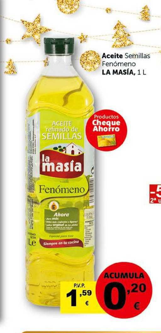 Masymas Aceite Semillas Fenómeno La Masía, 1 L
