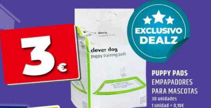 Dealz Puppy Pads Empapadores Para Mascotas