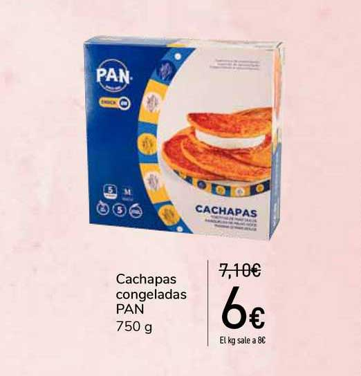 Carrefour Cachapas Congeladas Pan
