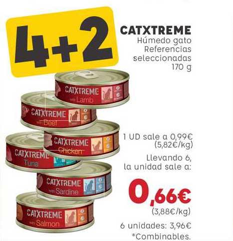 Kiwoko Catxtreme Húmedo Gato Referencias Seleccionadas