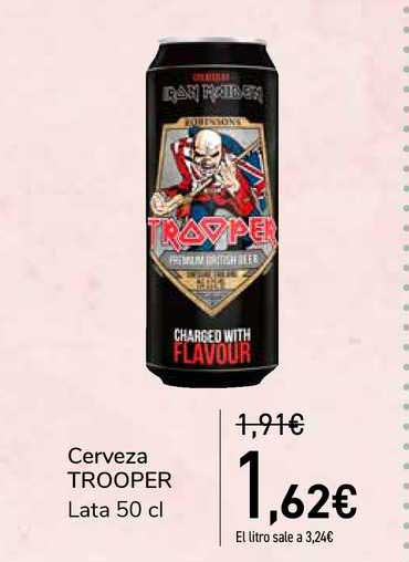 Carrefour Cerveza Trooper
