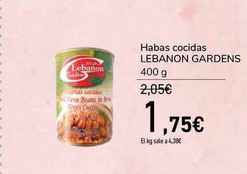 Carrefour Habas Cocidas Lebanon Gardens