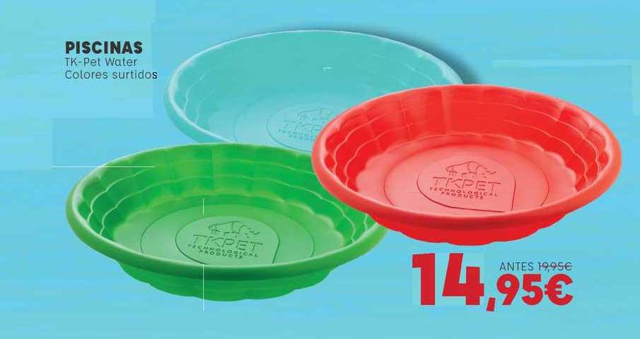 Kiwoko Piscinas Tk-pet Water Colores Surtidos
