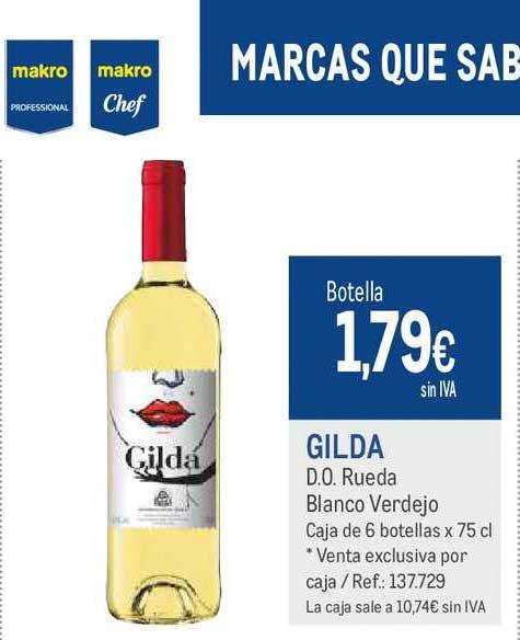 Makro Gilda D.O. Rueda Blanco Verdejo