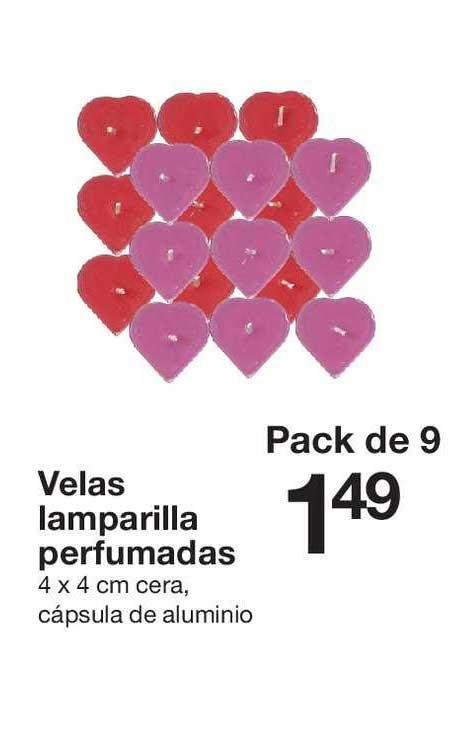 Zeeman Velas Lamparilla Perfumadas