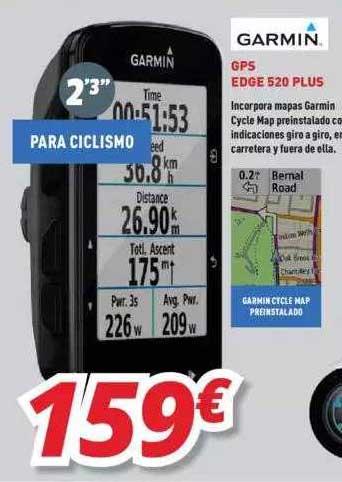 Mi Electro Garmin Gps Edge 520 Plus