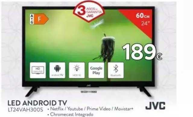 Tien 21 JVC LED Android TV LT24VAH300S