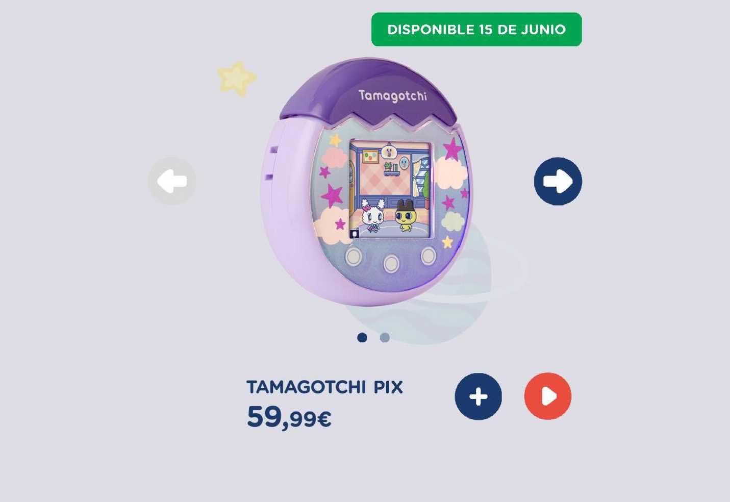 El Corte Inglés Tamagotchi Pix