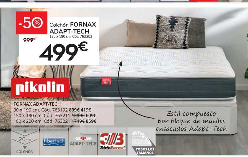 Conforama Fornax Adapt-tech Pikolin