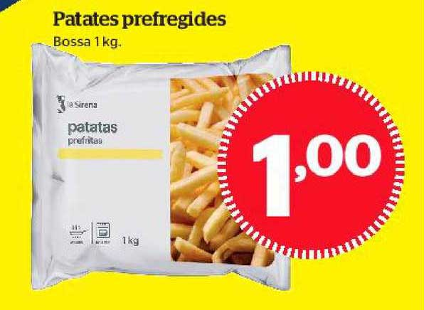La Sirena Patates Prefregides