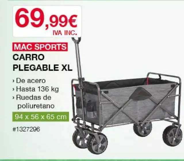 Costco Mac Sports Carro Plegable Xl
