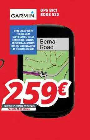 Mi Electro Garmin GPS Bici Edge 530