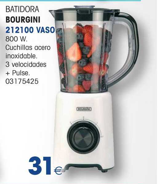Master Cadena Batidora Bourgini 212100 Vaso