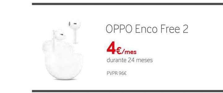 Vodafone Oppo Enco Free 2