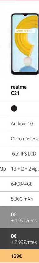 Vodafone Realme C21