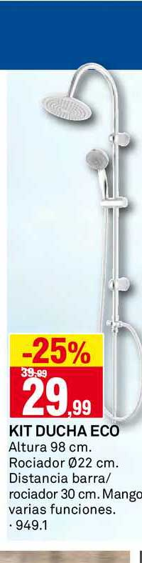 Bricoking -25% Kit Ducha Eco