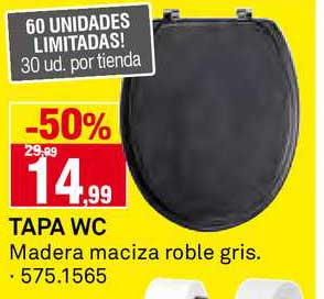 Bricoking -50% Tapa WC