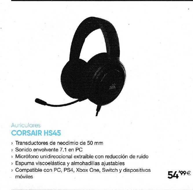 Fnac Auriculares CORSAIR HS45