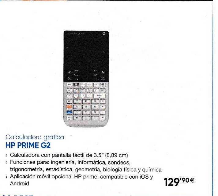 Fnac Calculadora Gráfica HP Prime G2