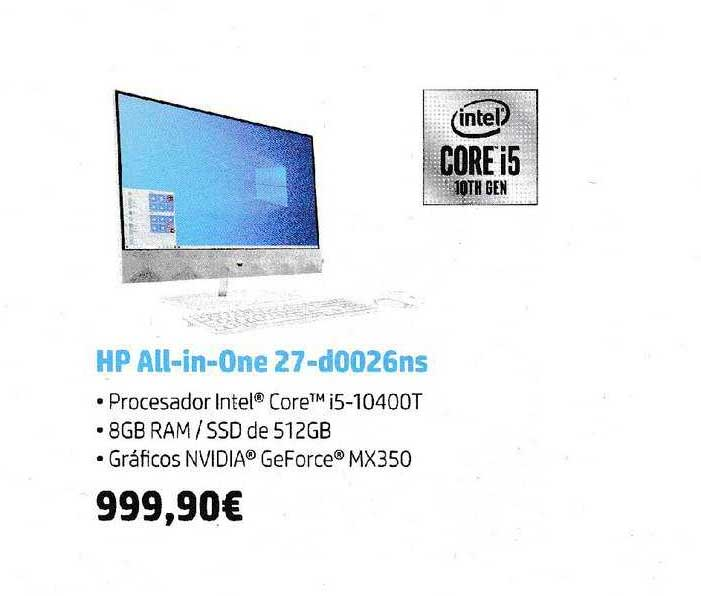 Fnac HP All-in-One 27-d0026ns