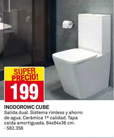Bricoking Inodoro WC Cube