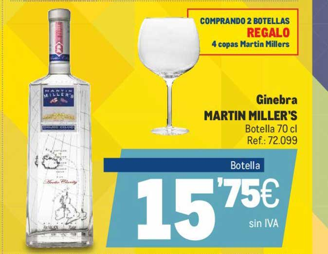 Makro Ginebra Martin Miller's