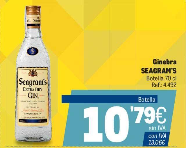 Makro Ginebra Seagram's