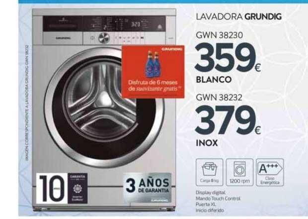 Tien 21 Lavadora Grundig GWN 38230 ∕ GWN 38232