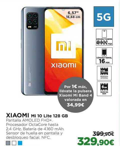 El Corte Inglés XIAOMI Mi 10 Lite 128 GB