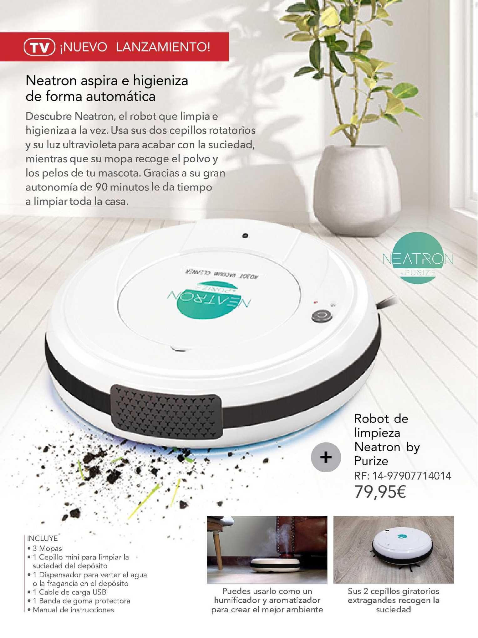 La Tienda En Casa Robot De Limpieza Neatron By Purize