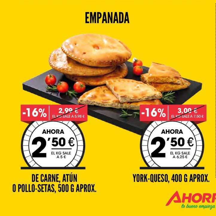 AhorraMas Empanada