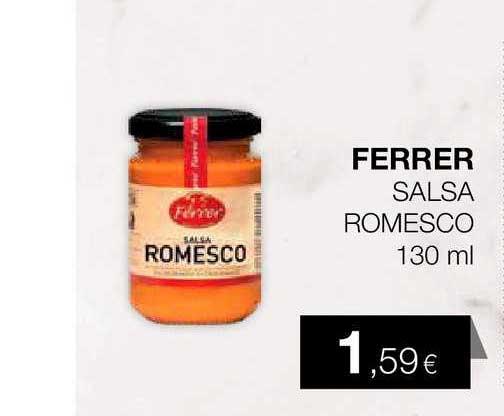 Plusfresc Ferrer Salsa Romesco