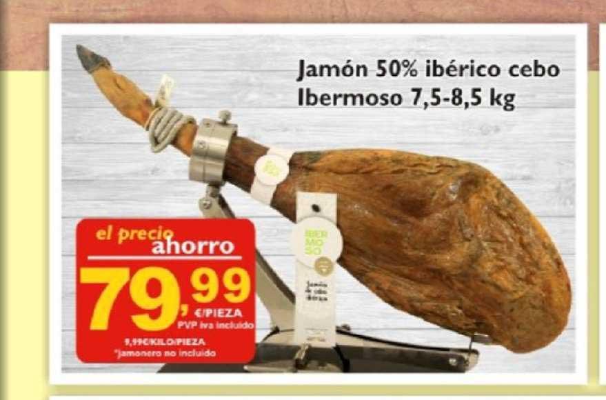 Supermercados La Despensa Jamón 50% Ibérico Cebo Ibermoso