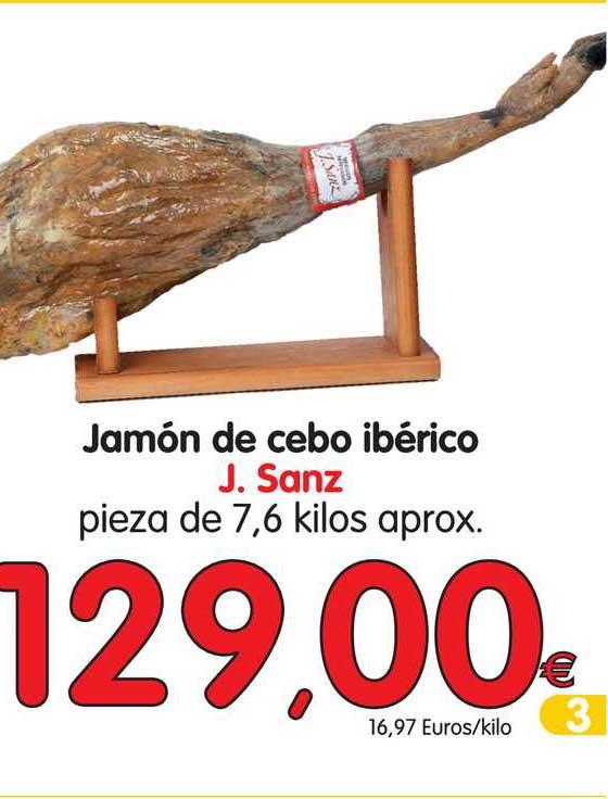 Alimerka Jamón De Cebo Ibérico J. Sanz