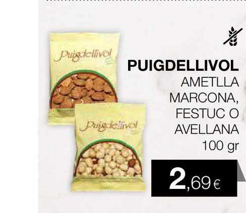 Plusfresc Puigdellivol Ametlla Marcona Festuc O Avellana