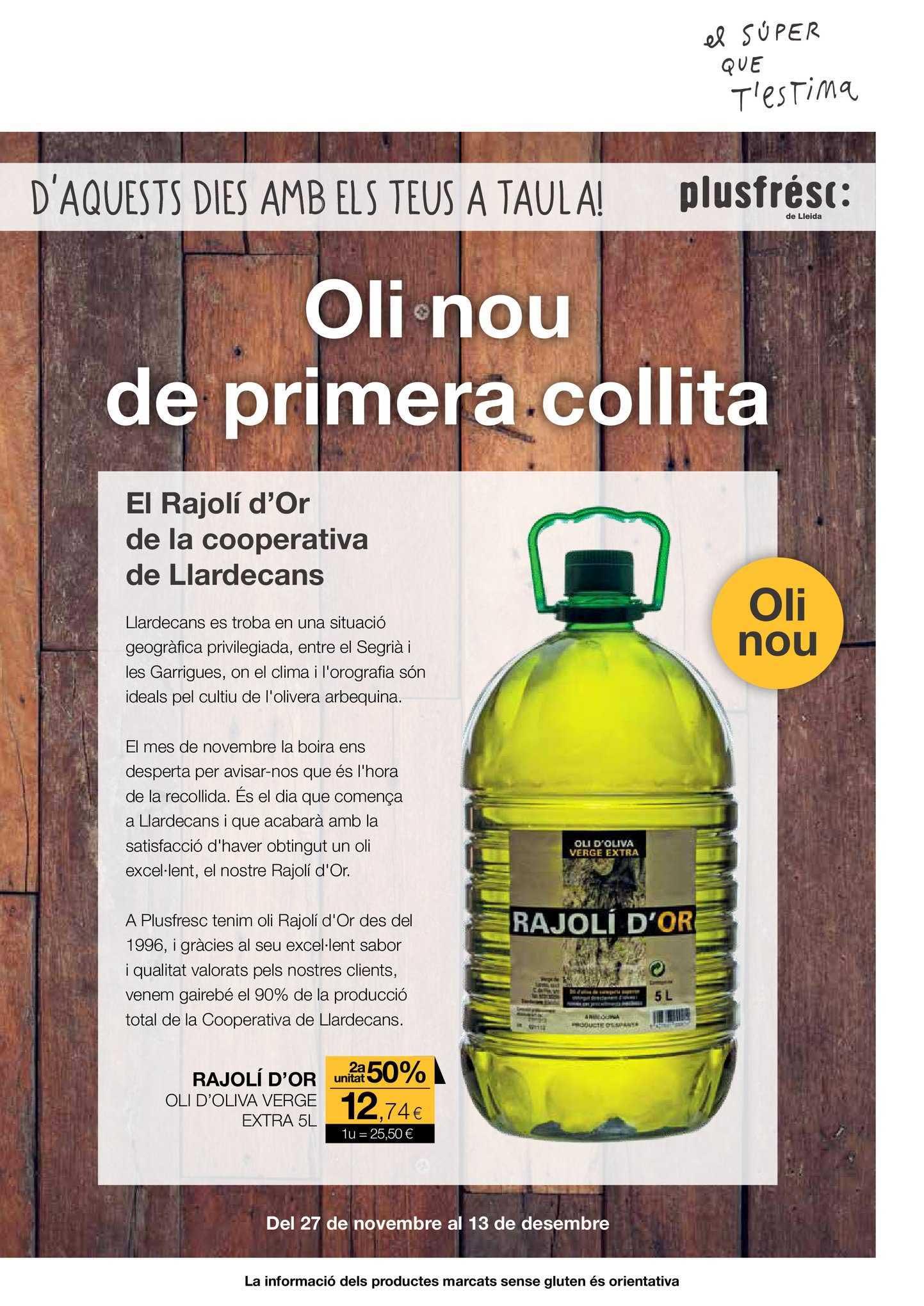 Plusfresc Rajolí D'or