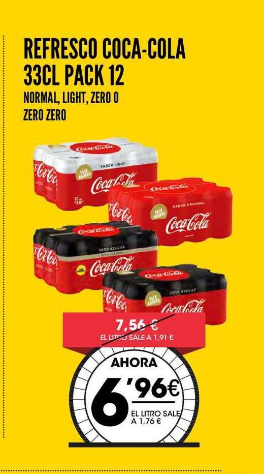 AhorraMas Refresco Coca-Cola 33 Cl Pack 12