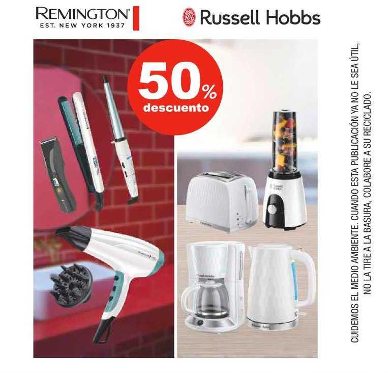 Supercor 50% Descuento Remington ∕ Russell Hobbs