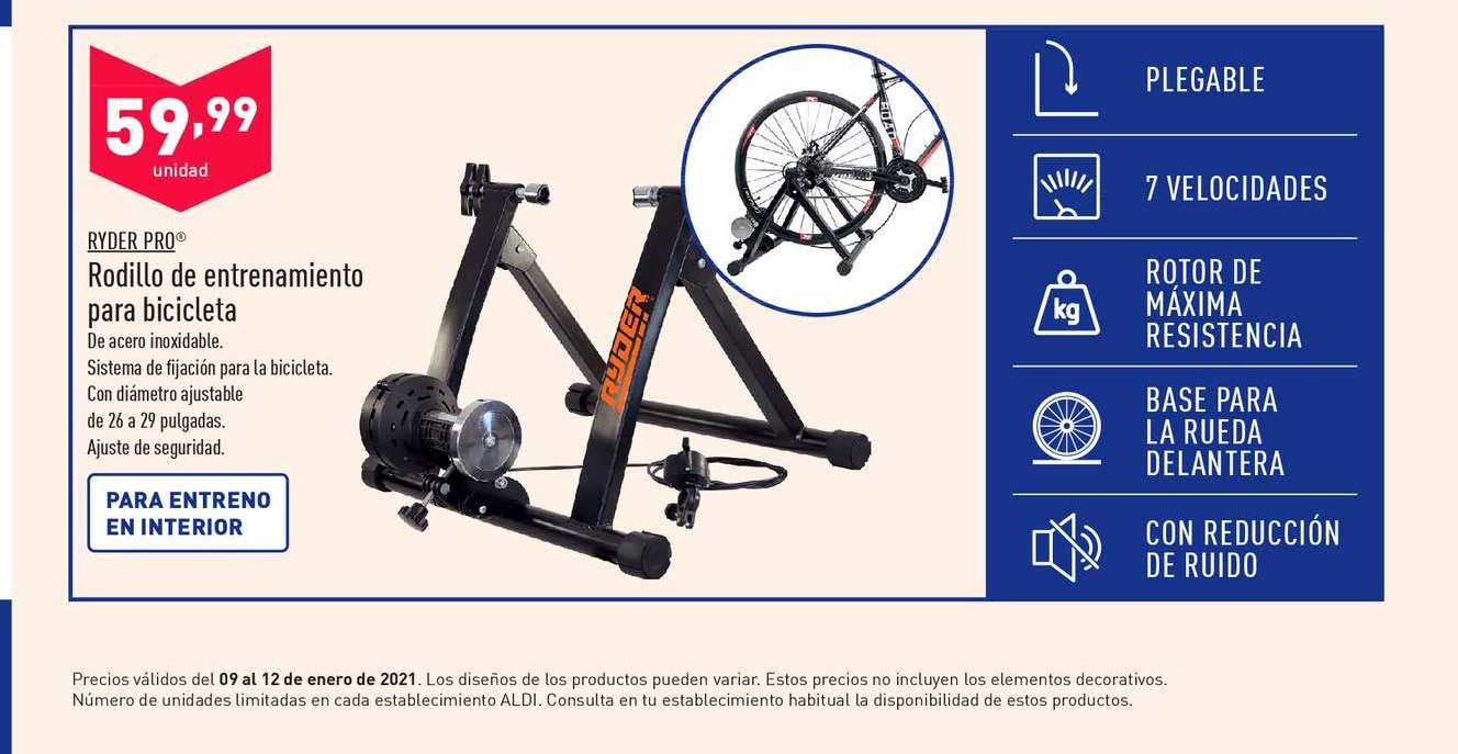 ALDI Ryder Pro Rodillo De Entrenamiento Para Bicicleta