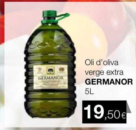 Plusfresc Oli D'oliva Verge Extra Germanor 5l