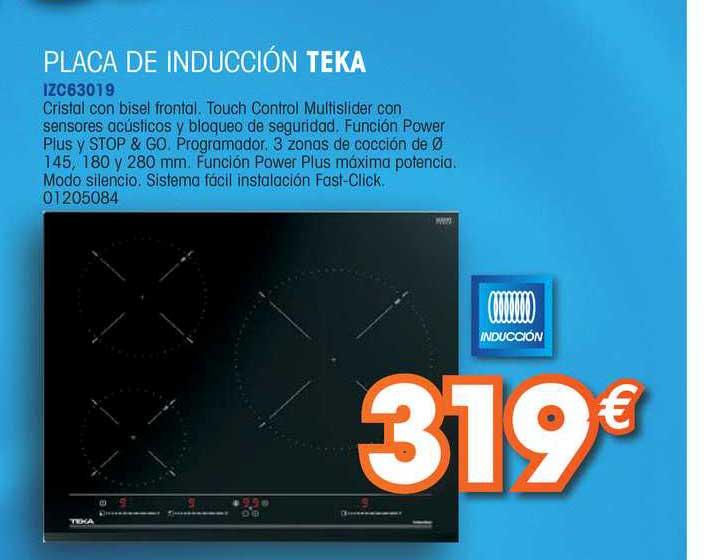 Master Cadena Placa De Inducción Teka IZC63019