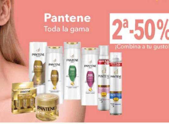 Clarel 2ᵃ-50% Pantene Toda La Gama