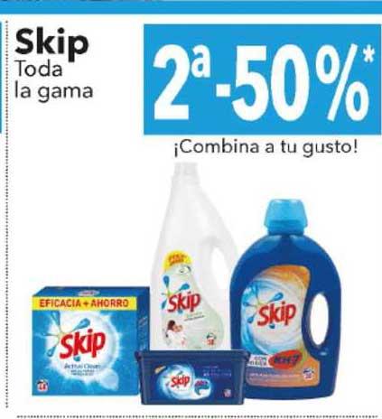 Clarel 2ᵃ-50% Skip Toda La Gama