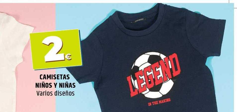 Dealz Camisetas Niños Y Niñas