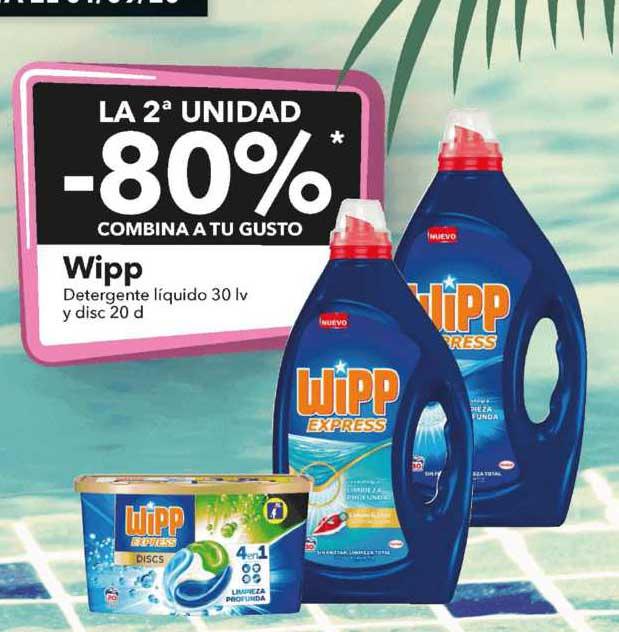 Clarel La 2ᵃUnidad -80% Wipp Detergente Liquido