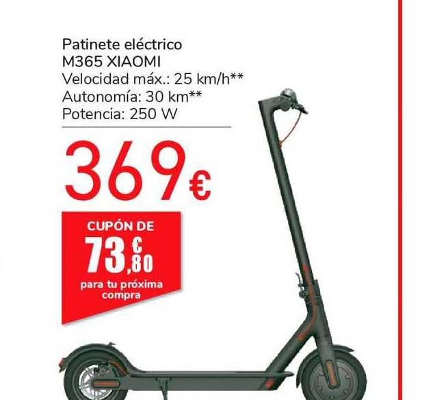 Oferta Patinete Eléctrico M365 Xiaomi En Carrefour Market
