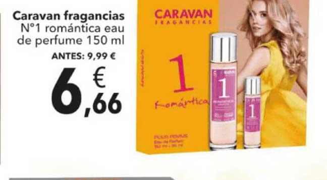 Clarel Caravan Fragancias N°1 Romántica Eau De Perfume 150 Ml