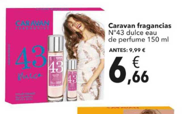 Clarel Caravan Fragancias N°43 Dulce Eau De Perfume 150 Ml