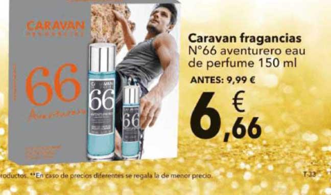 Clarel Caravan Fragancias N°66 Aventurero Eau De Perfume 150ml