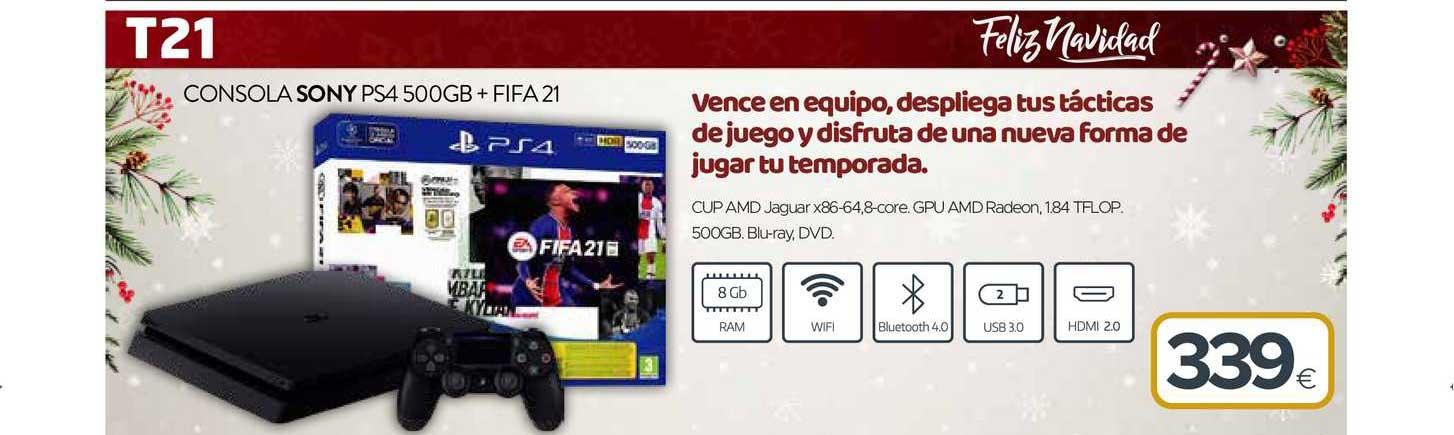 Tien 21 Consola Sony Ps4 500gb Fifa 21